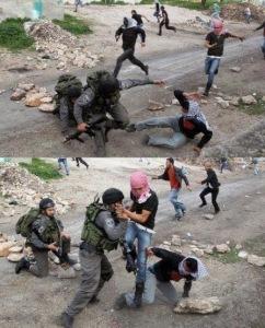 Pemuda Palestina lawan Tentara Israel